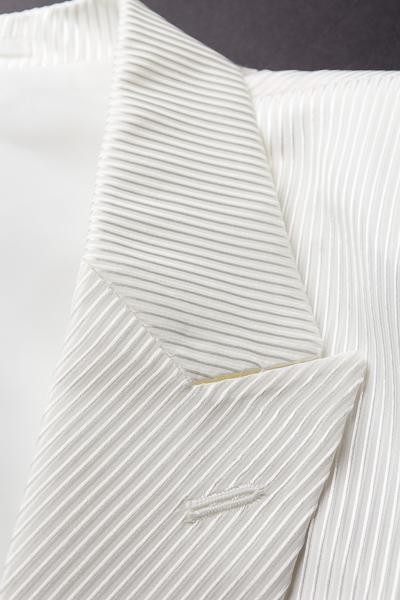 ストライプジャケット #526 ホワイト