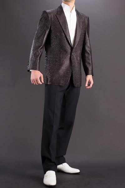 メタリック ラメジャケット #7700 ブラック