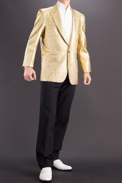 メタリック ラメジャケット #7700 ゴールド