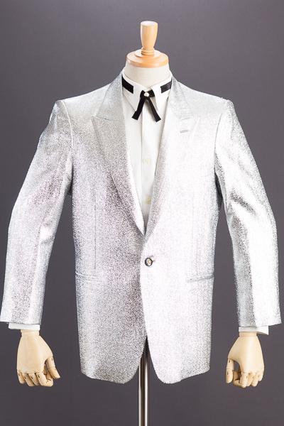 メタリック ラメジャケット #7700 シルバー