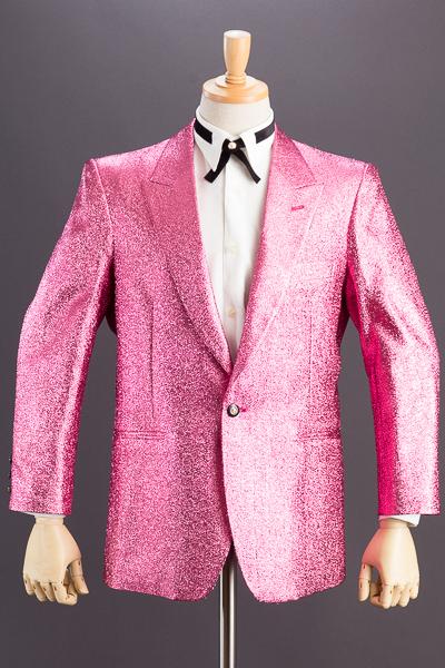 メタリック ラメジャケット #7700 ピンク