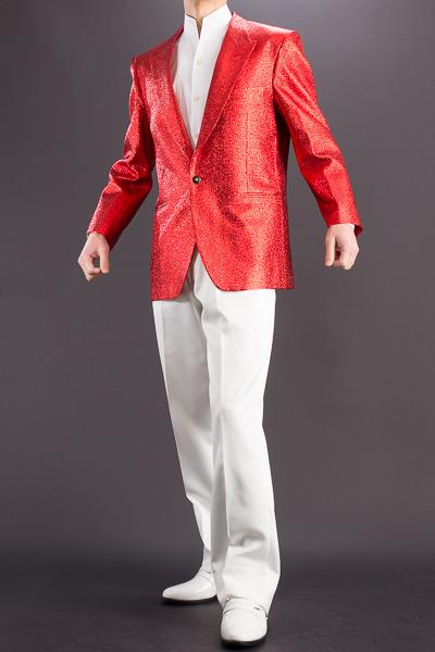 メタリック ラメジャケット #7700 レッド