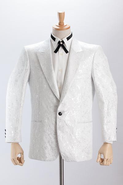 ジャガードジャケット #506 ホワイト