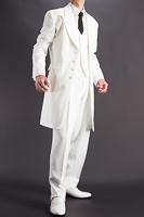 ロングホワイトスーツ