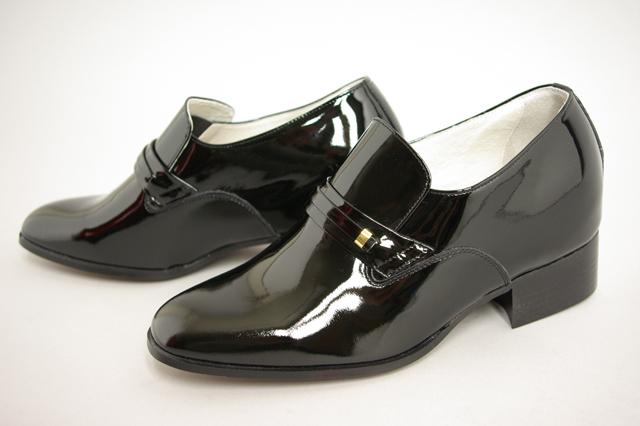 白いエナメル靴 シークレット ...